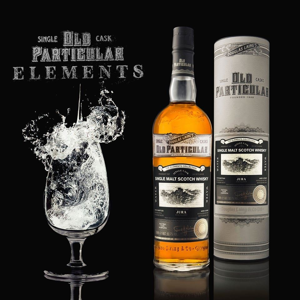 """Old Particular Elements Series: Jura 12 Years Old """"Water"""" Edition"""