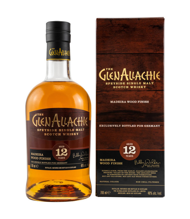 GlenAllachie Wood Finish Series 12 Jahre-Madeira