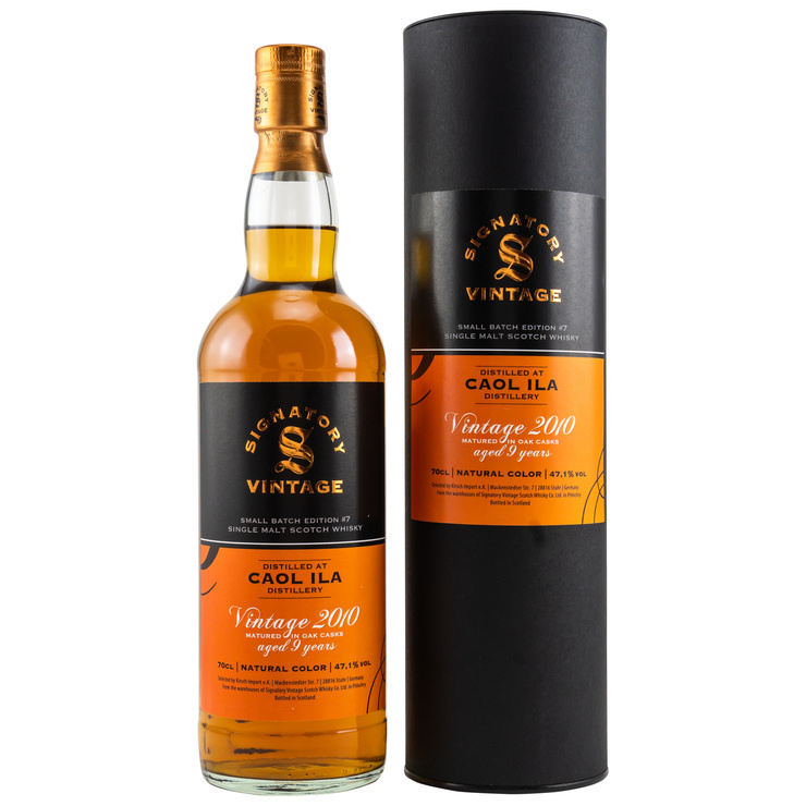 Signatory Small Batch Edition #7: Caol Ila 2010/2020