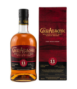 GlenAllachie Wood Finish Series 11 Jahre-Ruby Port
