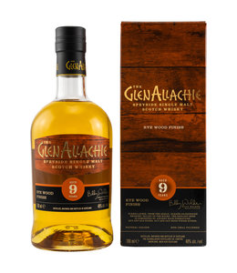 GlenAllachie Wood Finish Series 9 Jahre-Kentucky Rye