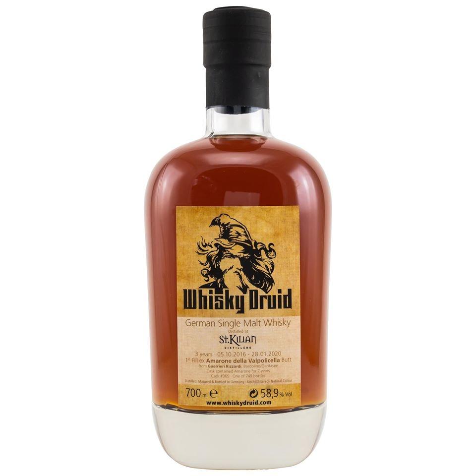 St. Kilian 1st Fill Amarone Butt - bottled for Whisky Druid
