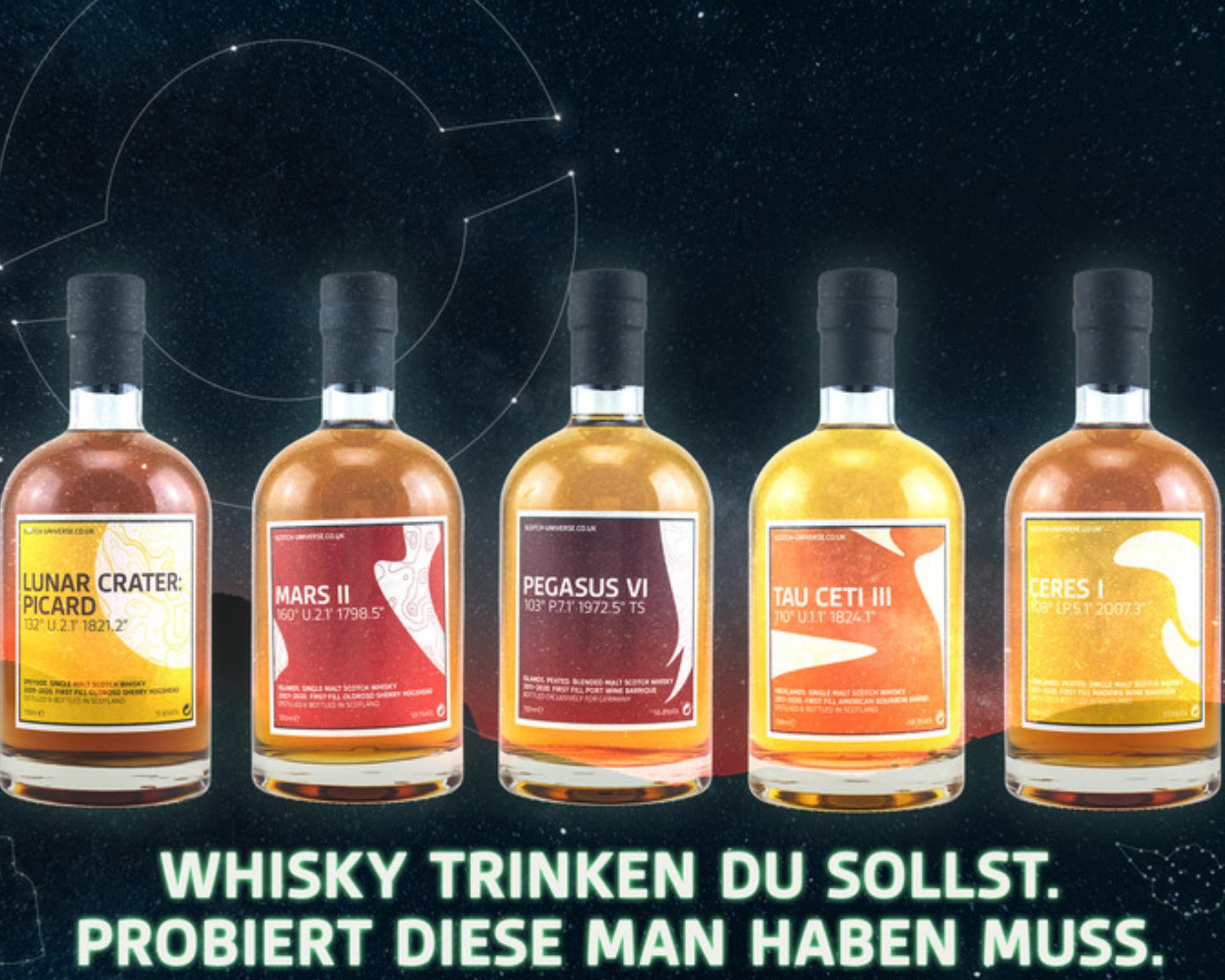 Gekostet diese man haben muss: Neuheiten von Scotch Universe!