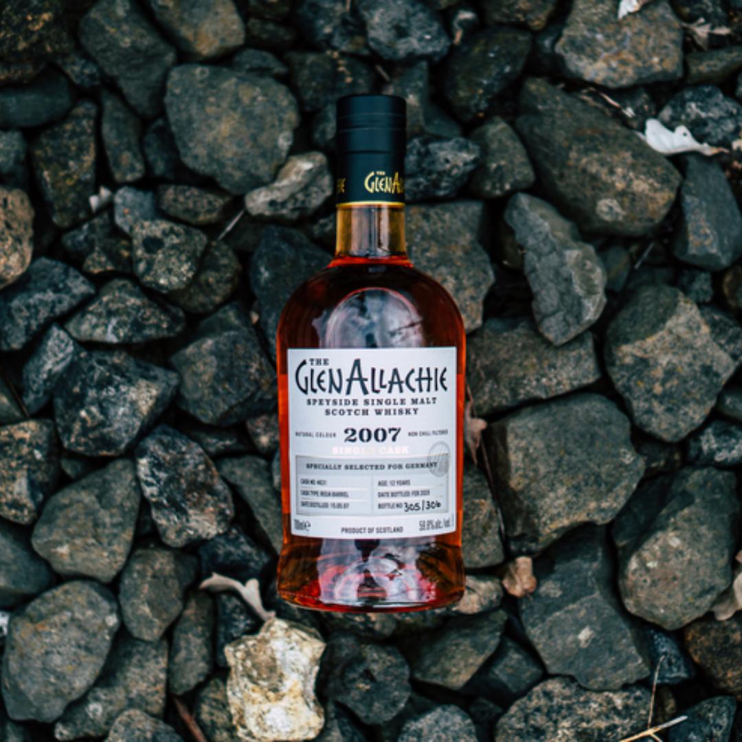 GlenAllachie Single Casks for Germany: Die ersten Flaschen im neuen Design sind da