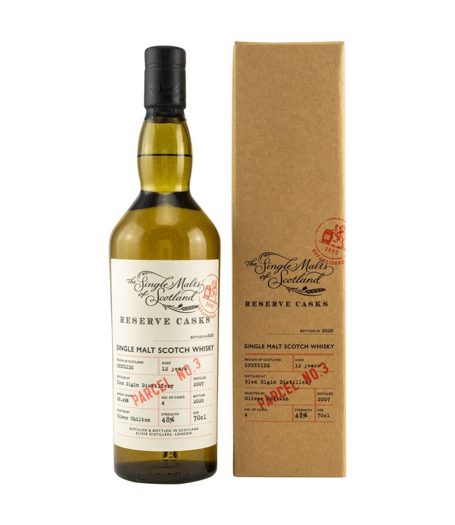 Glen Elgin The Single Malts of Scotland Reserve Cask 12 Jahre 2007/2020