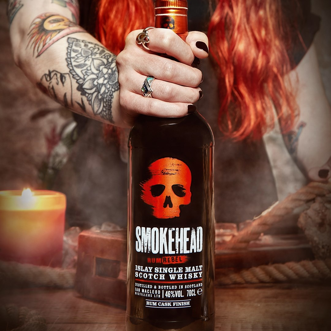 Celebrate the Revolution: Smokehead Rum Rebel