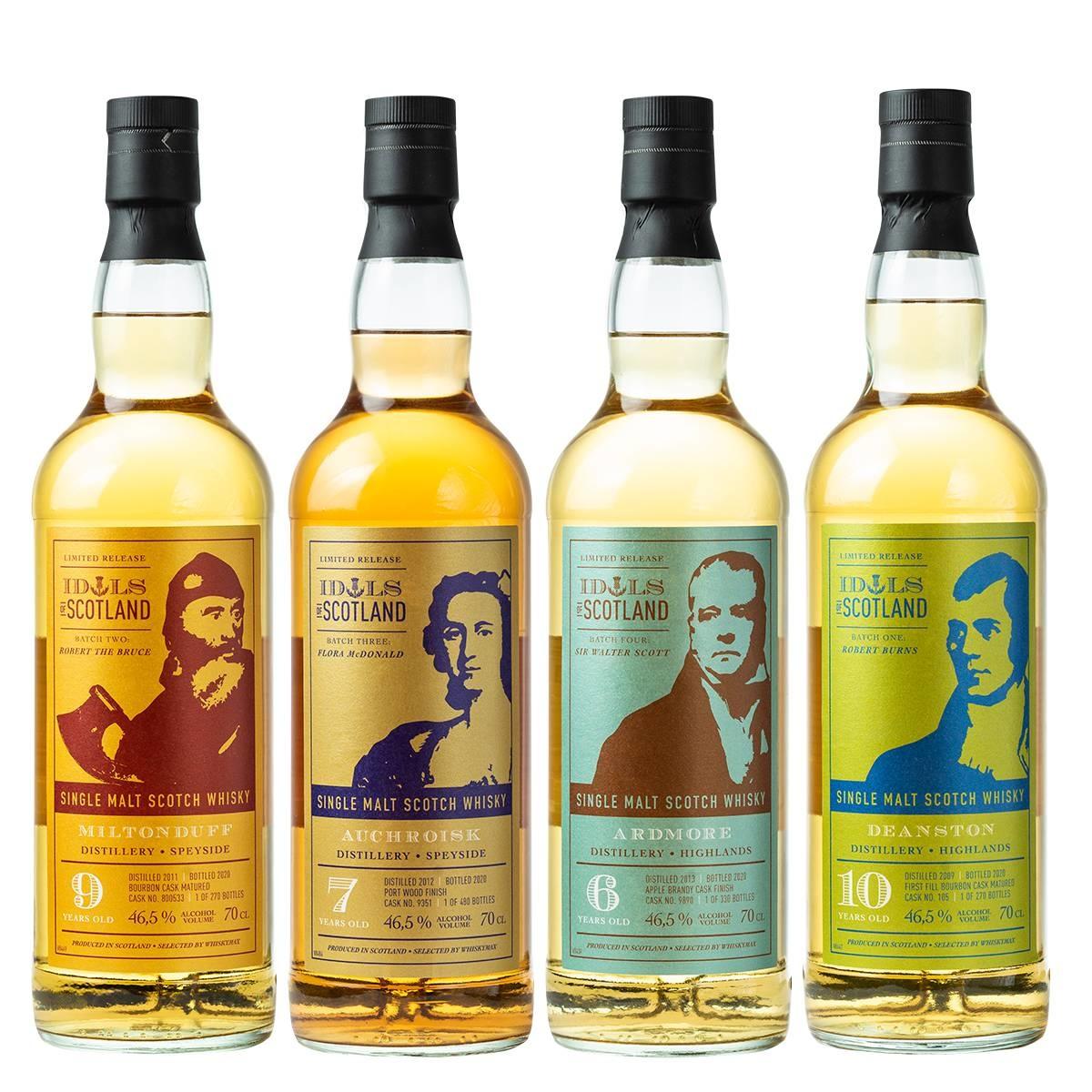Neu im Programm bei Whiskymax: IDOLS OF SCOTLAND