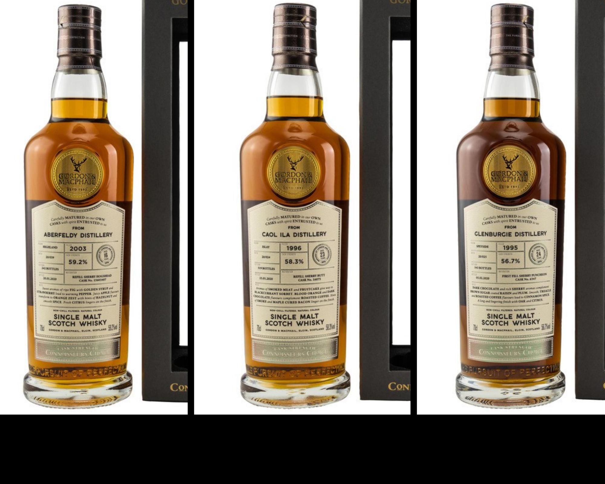 Von Islay über die Highlands bis in die Speyside: Scotch Whisky Highlights von Gordon & MacPhail
