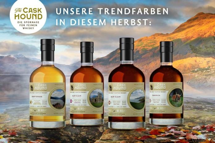 The Caskhound: Ein Quartett fassstarker Single Malts