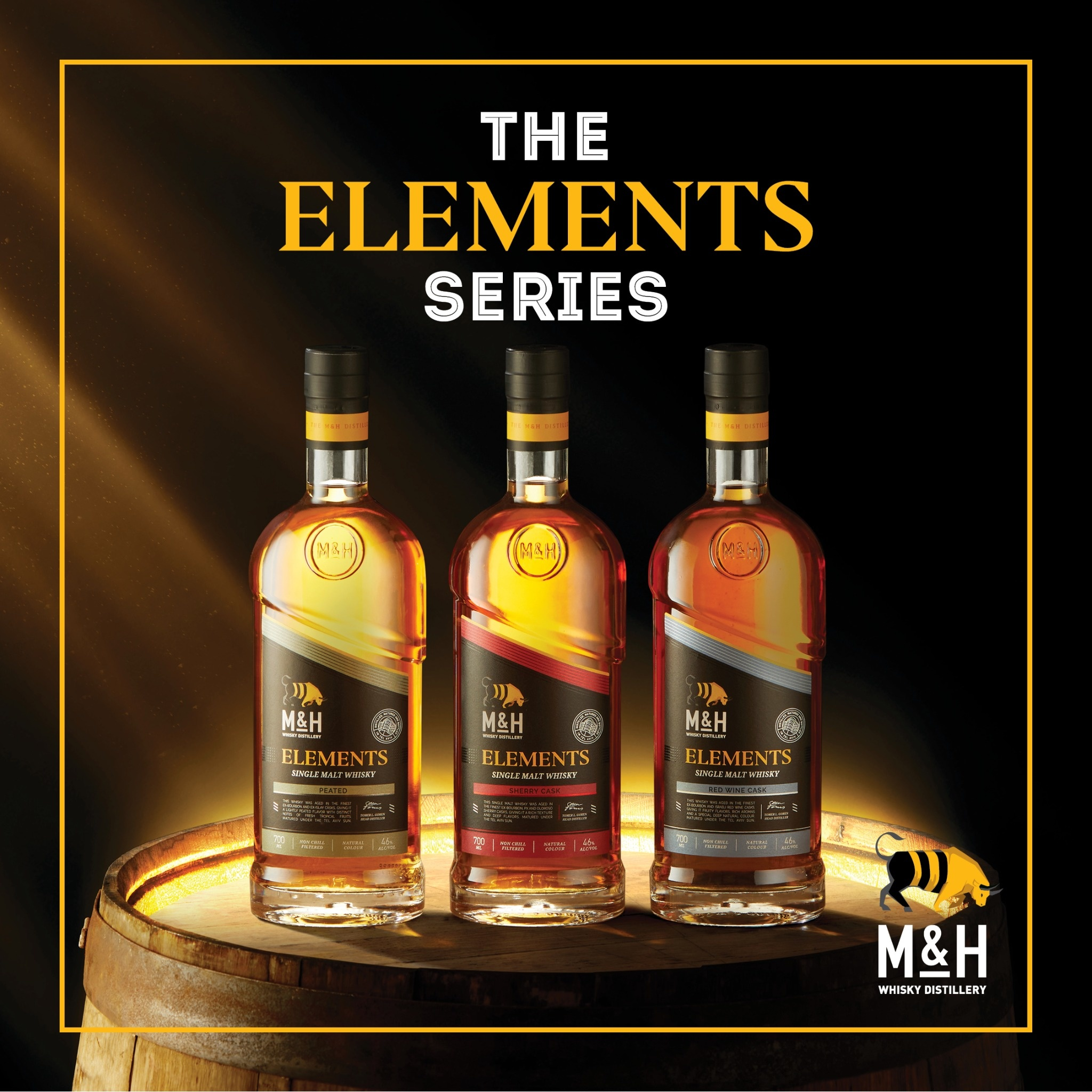 Milk & Honey Distillery bringt Elements Serie auf den Markt