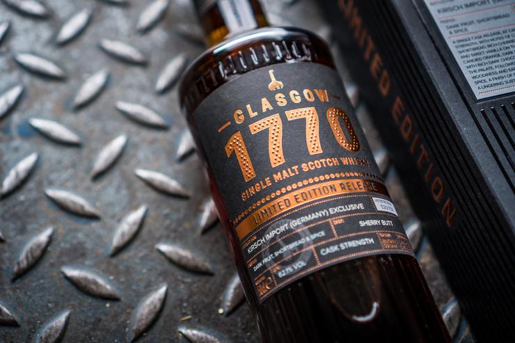 Premiere aus Schottlands größter Stadt: Das erste Single Cask der Glasgow Distillery  - nur für den deutschen Markt
