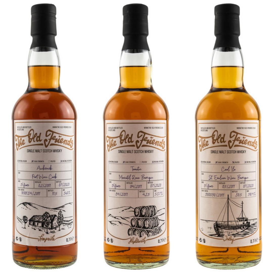 Geschenke für Whisky-Freunde: Neues von The Old Friends
