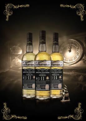 Time for Whisky Adventures: Drei Old Particular exklusiv für Deutschland