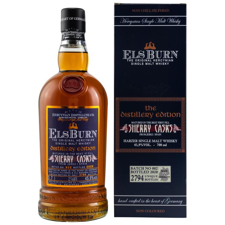 Nachschub für Sherryfans:  Batch #002 der aromatischen ElsBurn Distillery Edition 2020