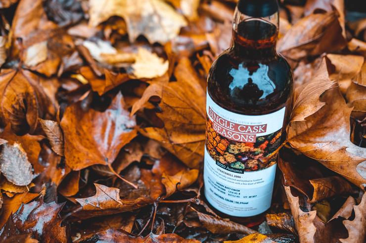 Herbstliches Aromenfeuerwerk mit  dem neuen Single Cask Seasons von Kirsch