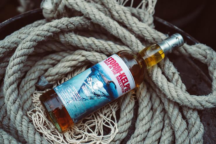 """Waghalsige Whiskyproduktion für den guten Zweck: Storm-Kelpie von Signatory Vintage und Kirsch Import ist der erste """"Whirlpool-Whisky"""""""