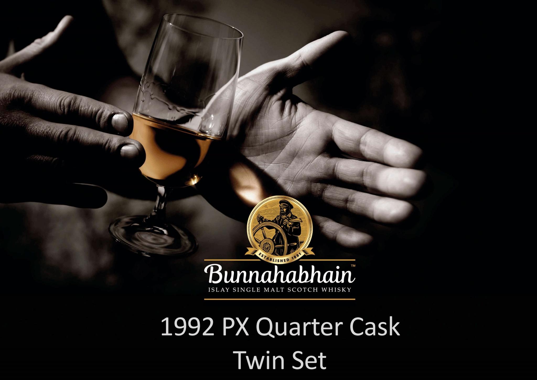 Wertvolle Whisky-Zwillinge von Bunnahabhain aus dem PX Quarter Cask