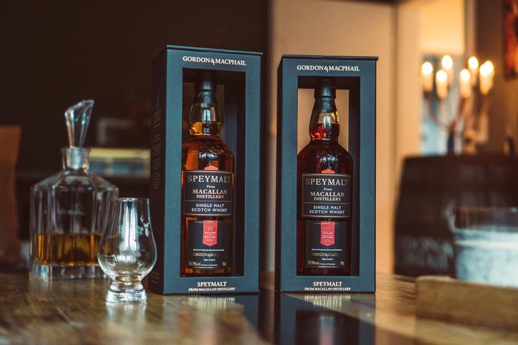 Whisky-Raritäten sichern: Speymalt from Macallan Distillery in Cask Strength