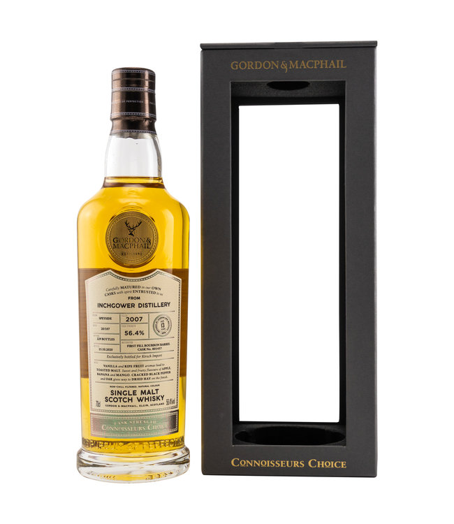 Inchgower Connoisseurs Choice Cask Strength 13 Jahre-2007/2020