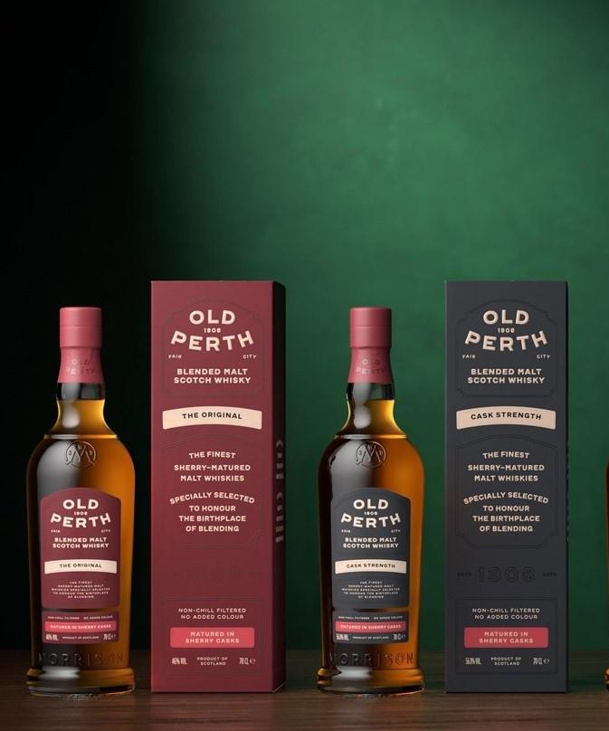 Relaunch Old Perth Blended Malt - Sherry Casks Only