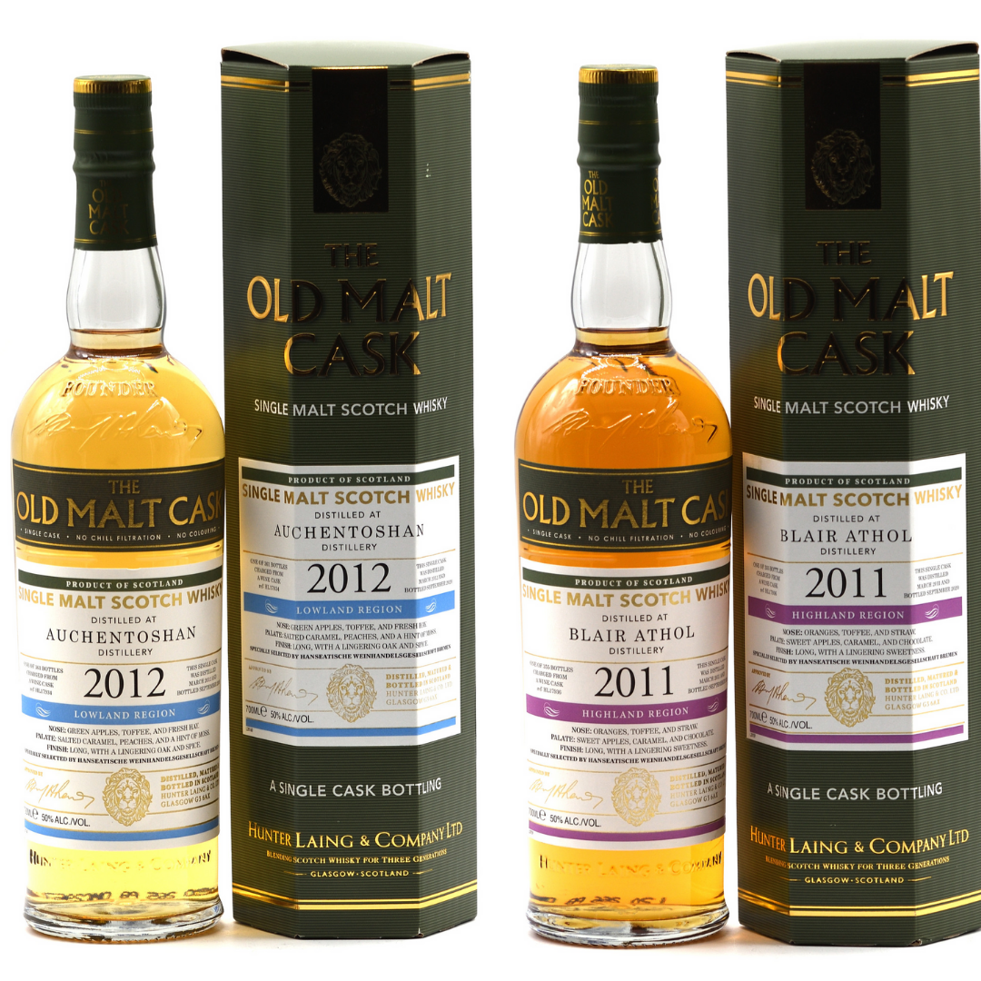 Old Malt Cask  Speycially Selected by Hanseatische Weinhandelsgesellschaft