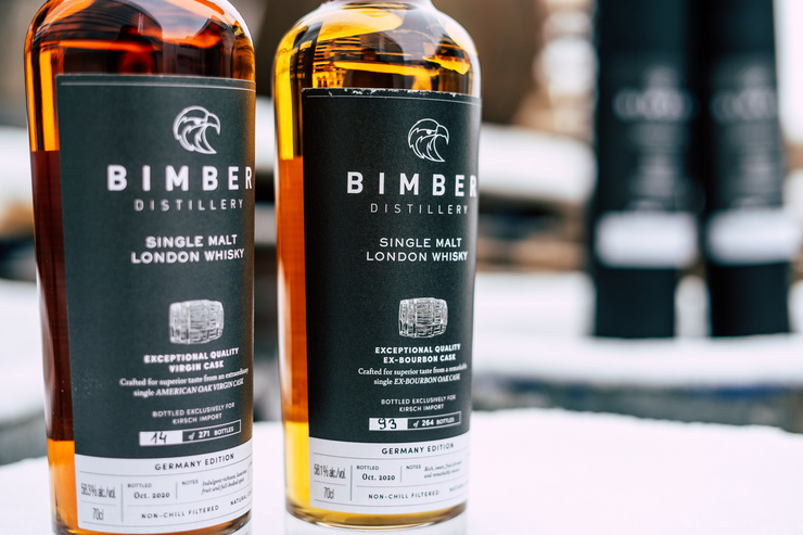 Welcome back, Bimber Distillery: Zwei Single Casks for Germany und neue Small Batch Releases