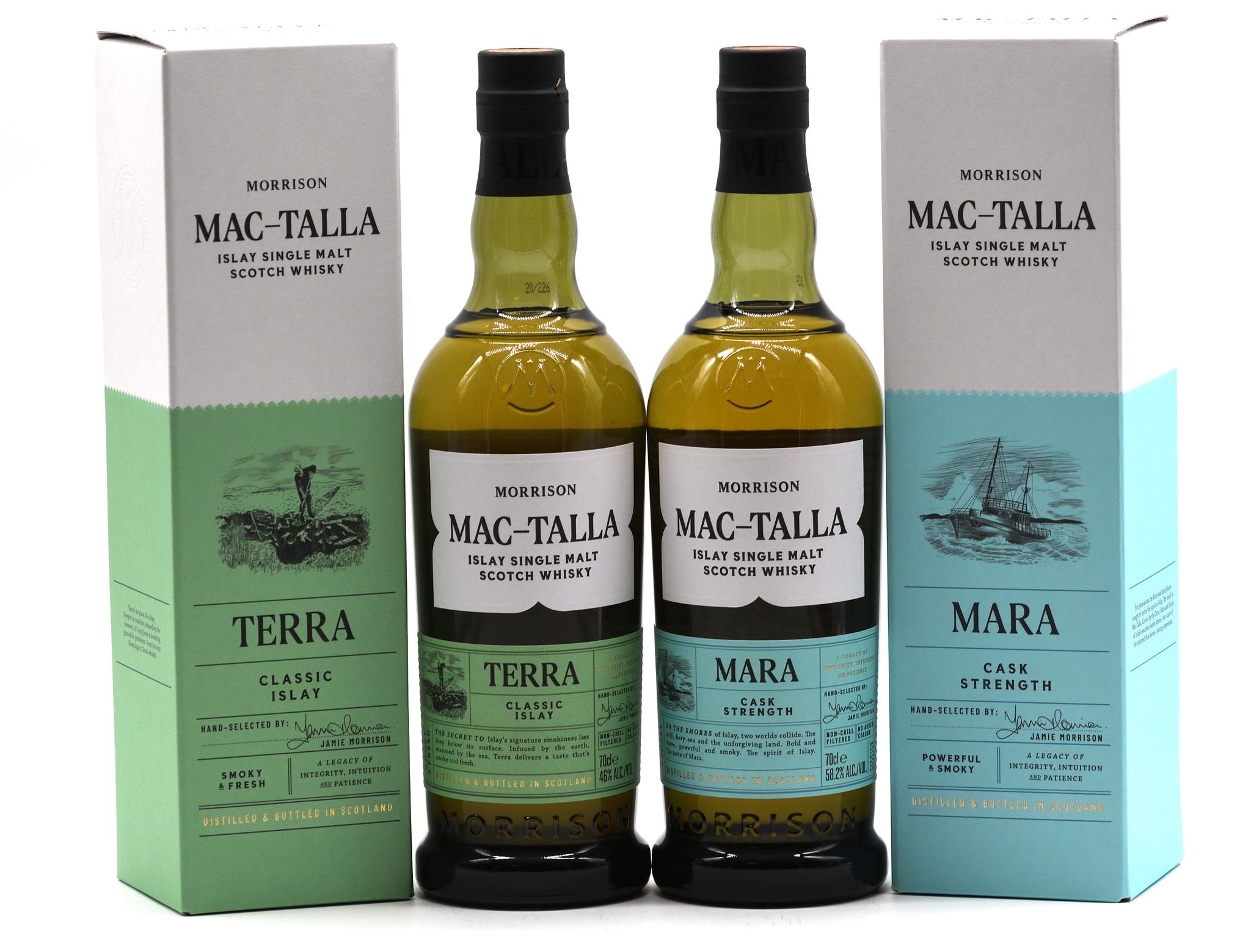 Morrison Distillers bringt neue Islay Singe Malt Whisky Reihe heraus