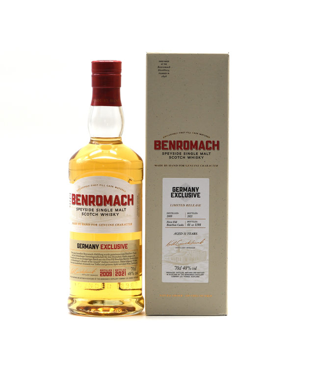 Benromach 11 Jahre-2009/2021 Germany Exclusive