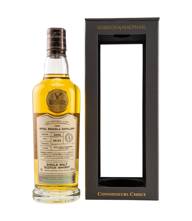 Royal Brackla Connoisseurs Choice Cask Strength 14 Jahre-2006/2020