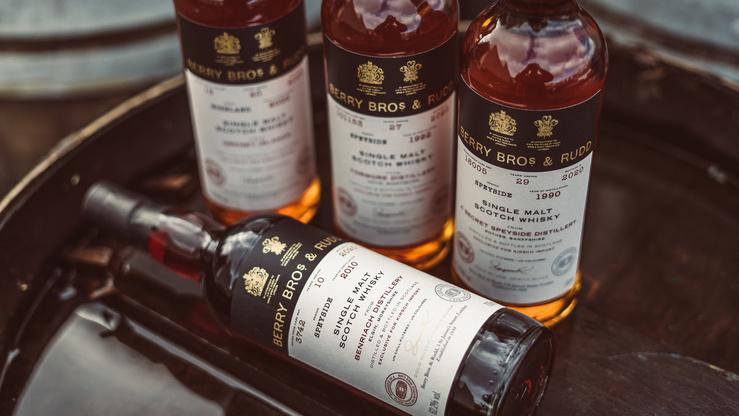 Highlights von Berry Bros. & Rudd: Single Cask Whiskys mit hoch aromatischen Wine Finishes