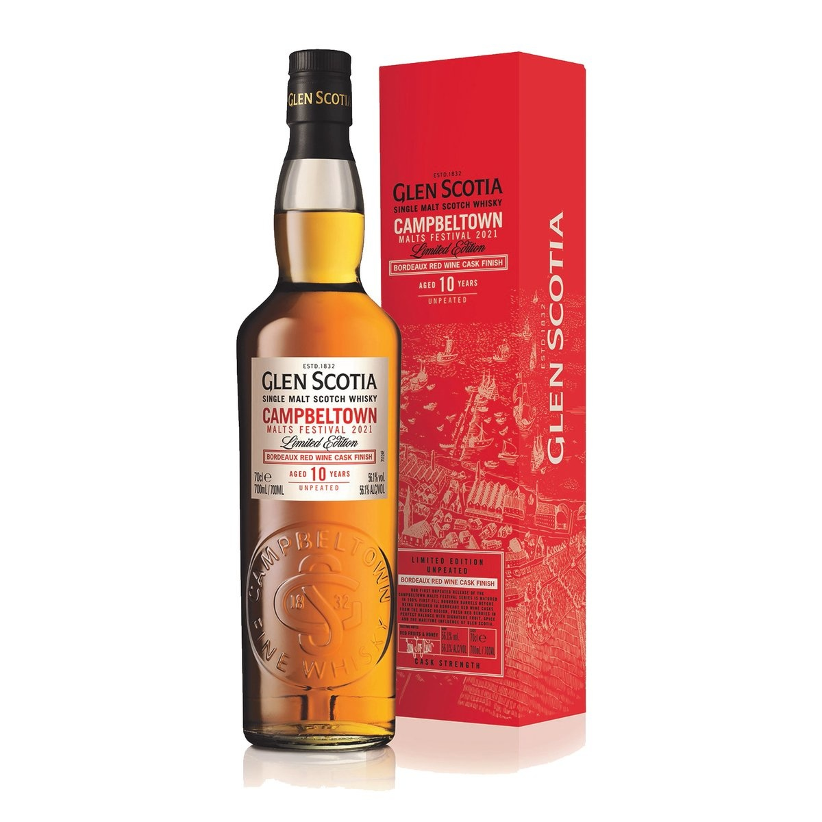Glen Scotia Festival 2021 mit Bordeaux Red Wine Finish