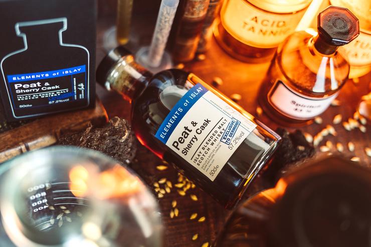 Dunkel, rauchig & kraftvoll: Elements of Islay Peat & Sherry geht in die zweite Runde