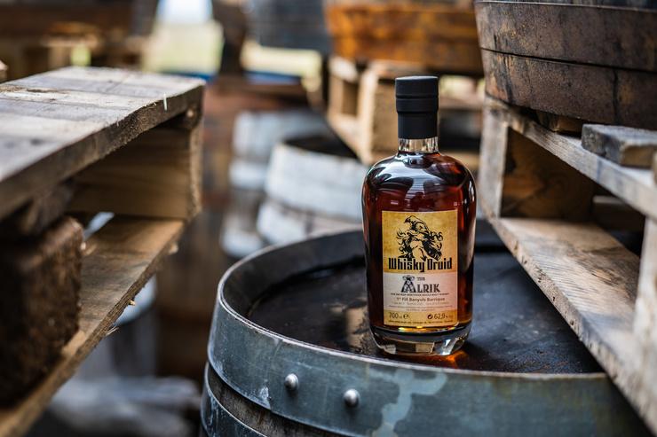 Einzigartiges Einzelfass aus dem Harz: The Alrik von Whisky Druid aus dem Banyuls Barrique