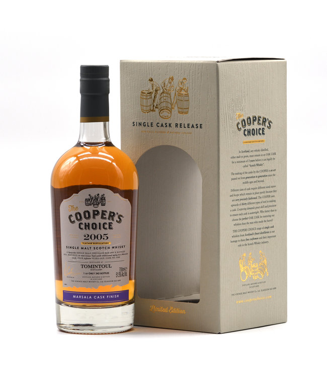 Tomintoul Cooper's Choice 15 Jahre-2005/2021