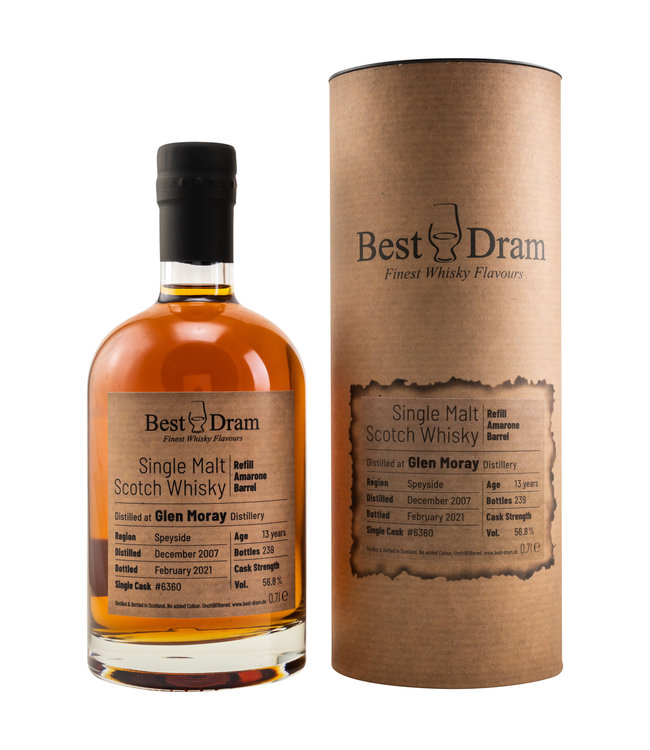 Glen Moray Best Dram 13 Jahre-2007/2021