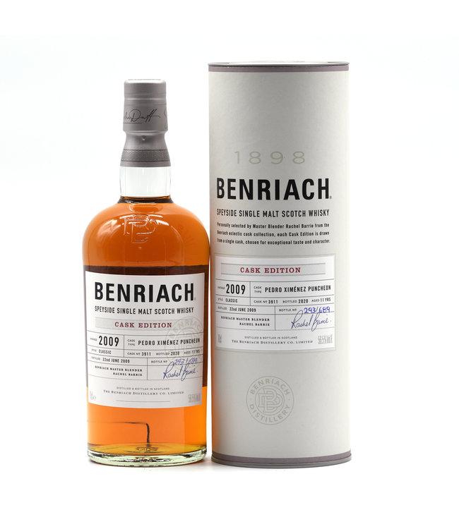 BenRiach Single Cask 11 Jahre-2009/2020