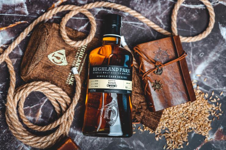 Insel-Whisky unverfälscht genießen: Single Cask von Highland Park für Kirsch Import