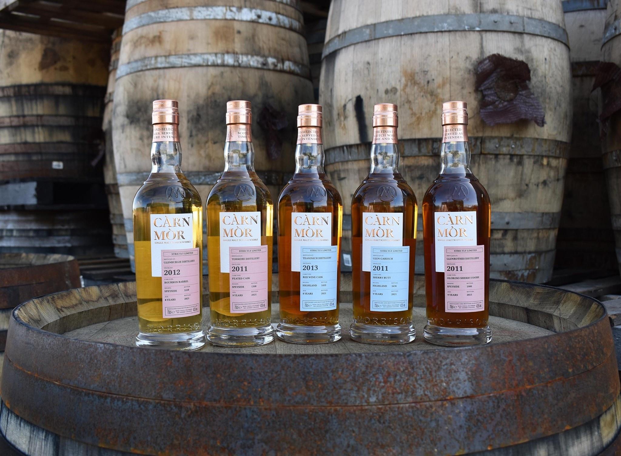 Neu im Sortiment: Càrn Mòrn von Morrison Distillers