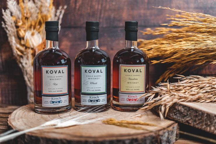 Koval for Kirsch Import: Drei außergewöhnliche Single Barrel Whiskeys für Deutschland