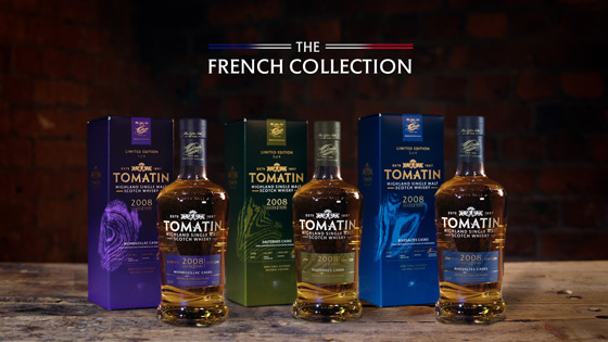 """Tomatin präsentiert """"The French Collection"""""""