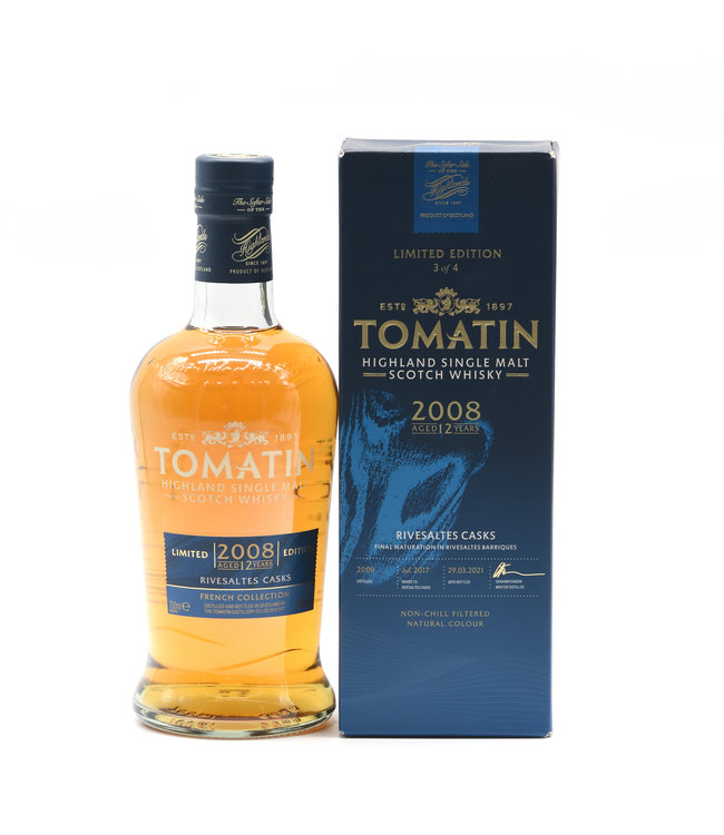 Tomatin The French Collection 12 Jahre Rivesaltes Finish