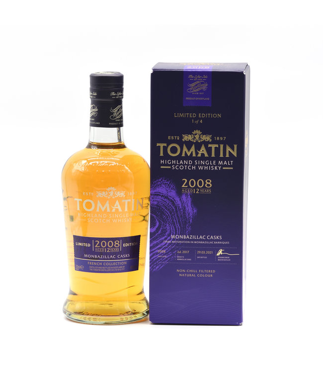 Tomatin The French Collection 12 Jahre Monbazillac Finish