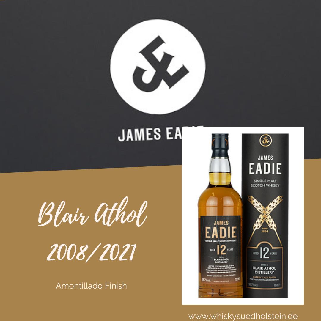 Neues Single Cask von James Eadie: Blair Athol Amontillado Sherry Finish