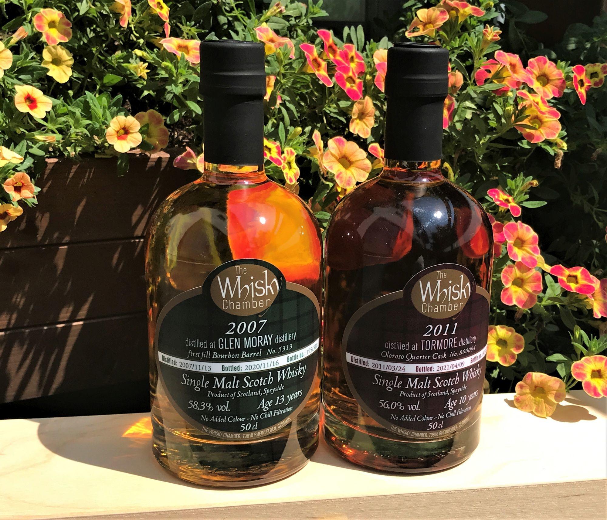Zwei spätsommerliche Abfüllungen von The Whisky Chamber
