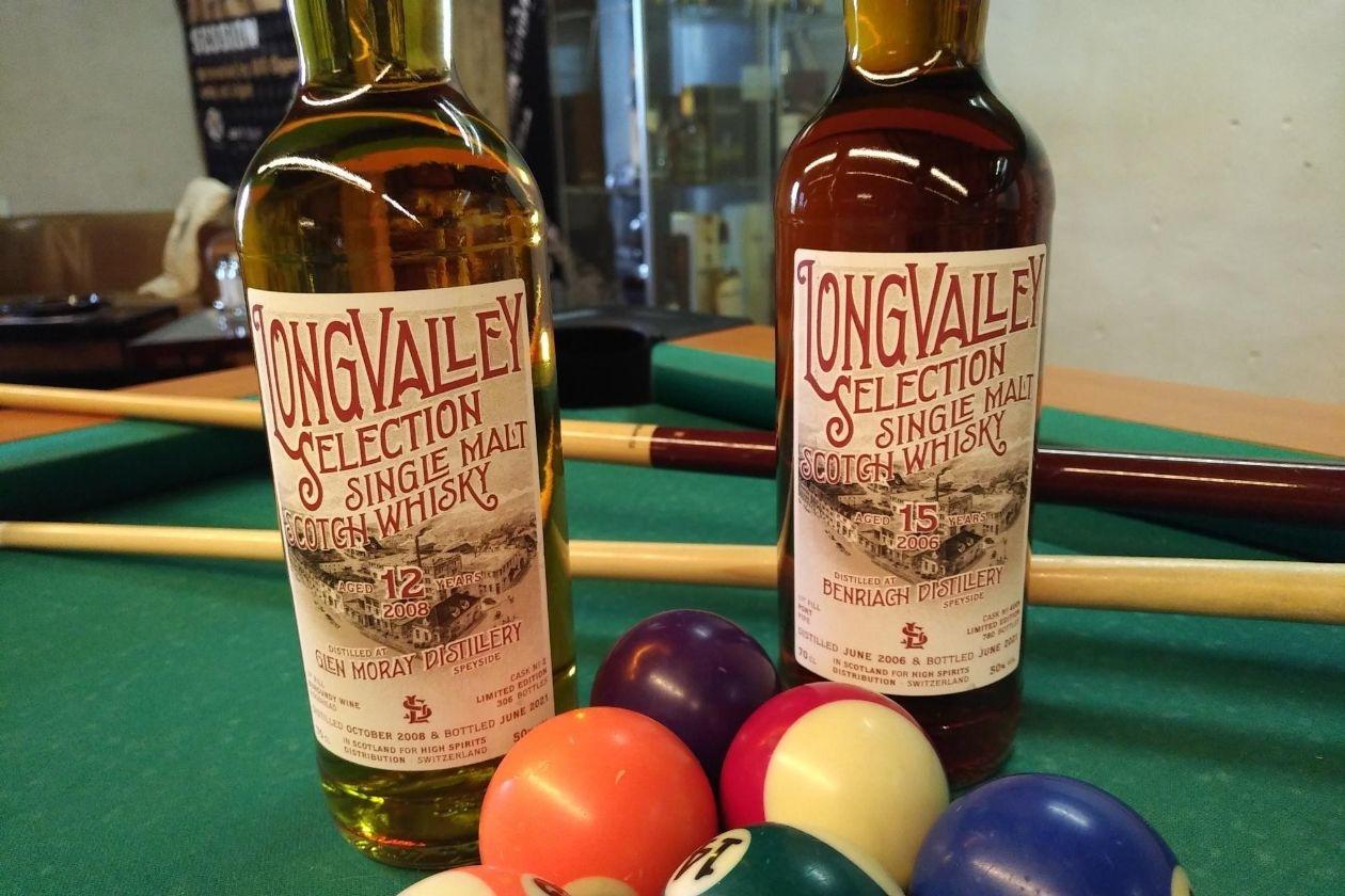 Zwei besonders feine Tropfen von LongValley