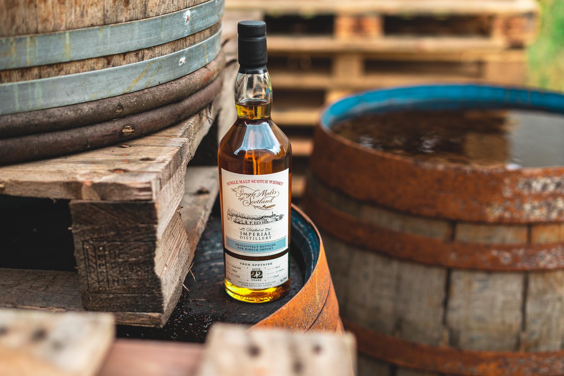 """Schlüssel zur """"Lost Distillery"""": Imperial Single Cask von The Single Malts of Scotland"""