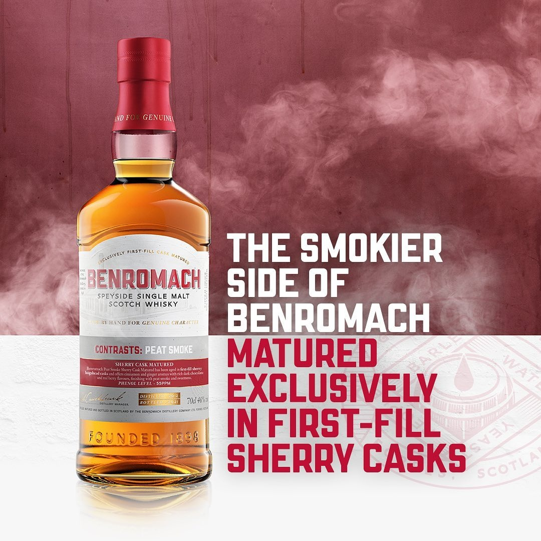 The Smokier Side of Benromach - Exclusively Matured in First Fill Sherry Casks