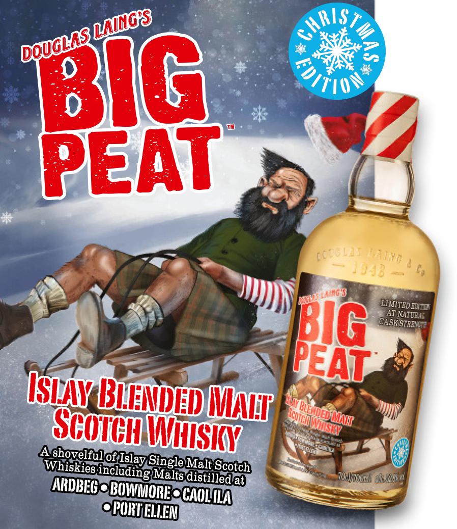 Mit der Big Peat Christmas Edition torfige Weihnachten genießen