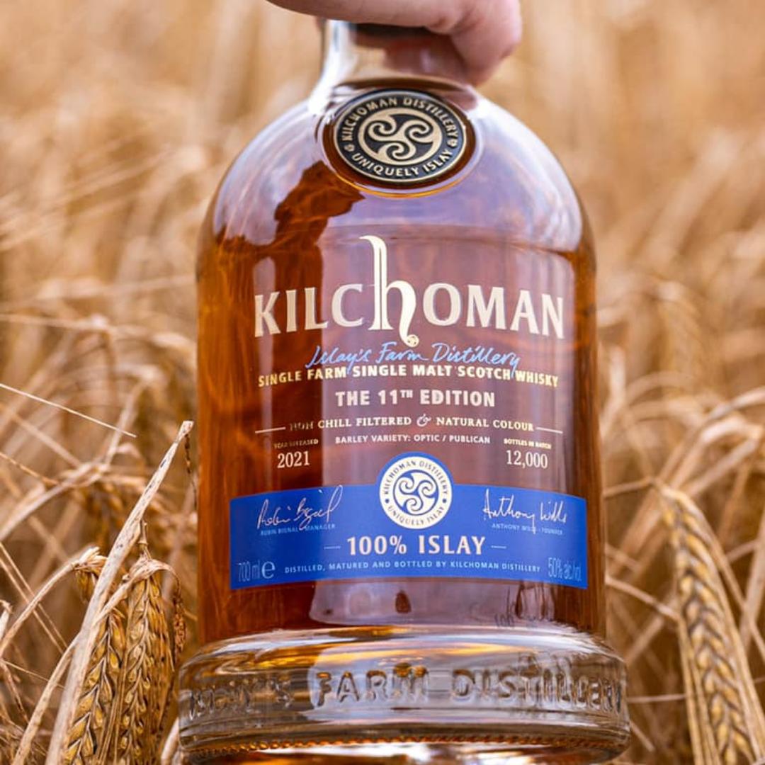 Kilchoman 100 % Islay geht in die elfte Runde
