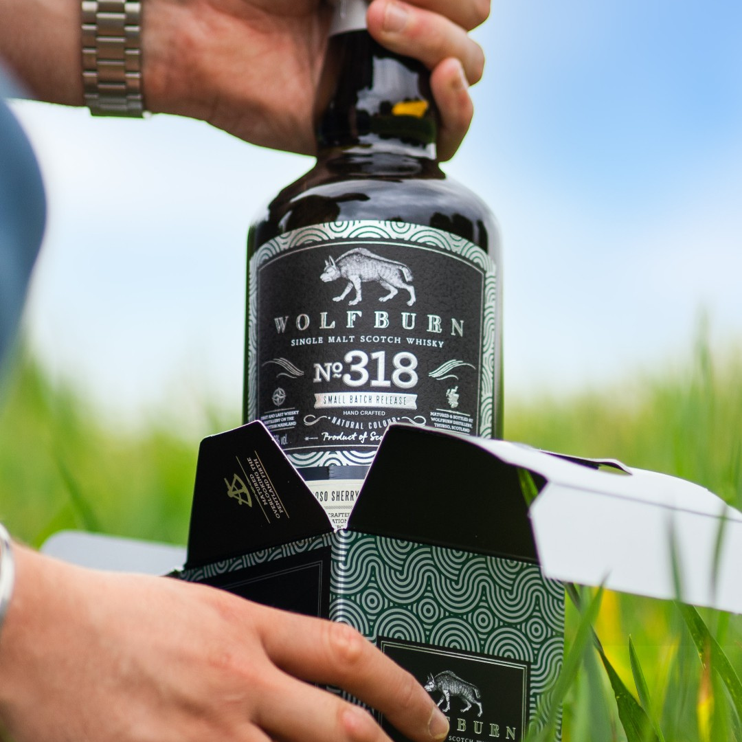 Wolfburn Batch 318: Limited Release Peated & Sherried